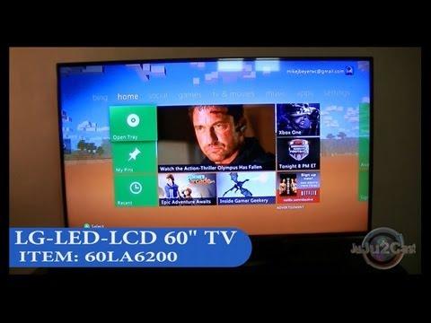 LG 60LA620S 60 Cinema 3D Smart LED TV  Unboxing & Test  FunnyDog.TV