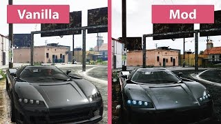 GTA 5 - Vanilla vs. Redux Mod Graphics Comparison @1080p