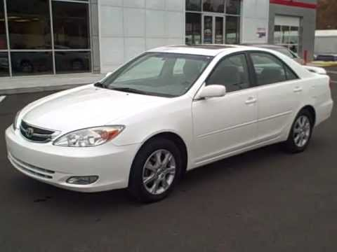 Awesome 2004 Toyota Camry XLE White #81942