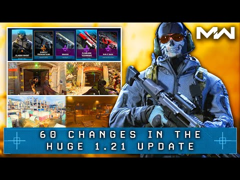 Call of Duty WARZONE: The 60 HUGE CHANGES Of The FINAL CONTENT UPDATE of Season 3 (MW Update 1.21)