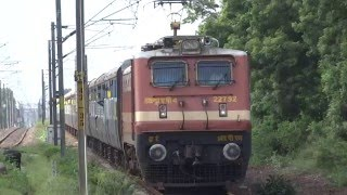 INDIAN RAILWAYS : RPM WAP-4 TRIVANDRUM-CHENNAI EGMORE ANANTHAPURI EXPRESS
