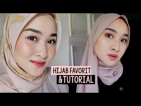 TUTORIAL HIJAB & PASHMINA SIMPLE + REVIEW HIJAB FAVORIT | Hijab Story Part 2 | Kiara Leswara