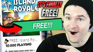ROBLOX FORTNITE IS FINALLY FREE!!! (Island Royale FREE)