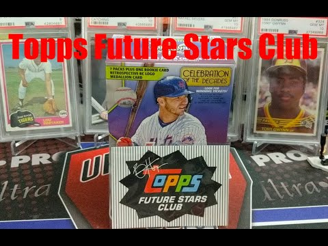 Topps Future Stars Club May 2020 A New Monthly Subscription Product From Topps