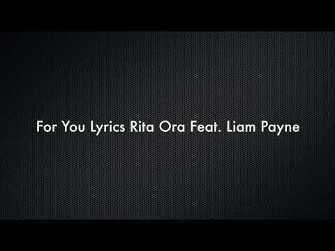 Liam Payne & Rita Ora  For You Fifty Shades Freed Lyrics Gio Box