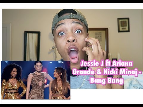 Jessie J ft. Ariana Grande & Nicki Minaj - Bang Bang AMA's 2014 | REACTION