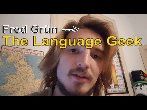 """""""Fred Grün"""" Becomes """"The Language Geek"""" (Update)"""