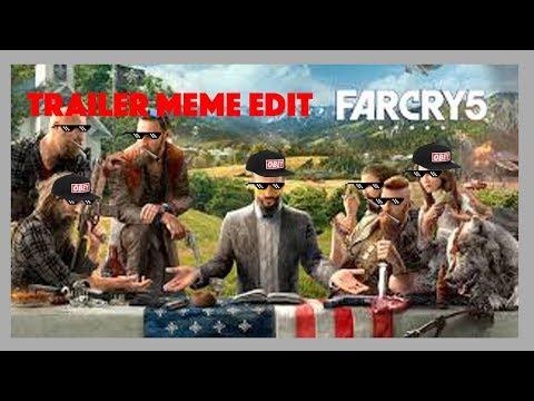 Farcry 5: Trailer meme edit