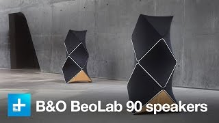 B&O BeoLab 90 speakers - Hands on