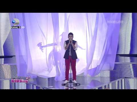 Raul Eregep canta All of me - Finala - KIDSing 2014