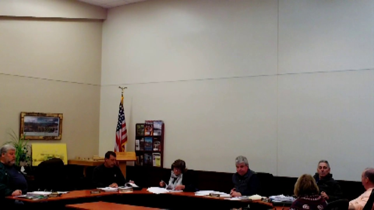 Dannemora Town Board Meeting  11-28-18