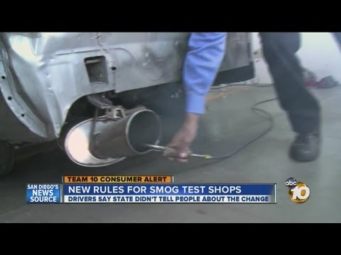 New State STAR Program Has Drivers Confused On Smog Tests