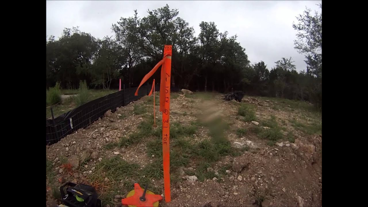 How To Read And Set Slope Stakes Youtube