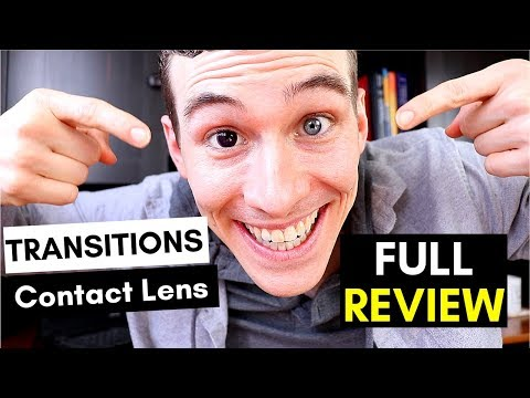 Transition Contact Lenses ⚡ REVIEW ⚡ New Contact Lenses Technology