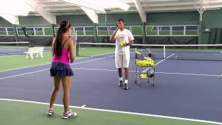 Tennis tips - rallying