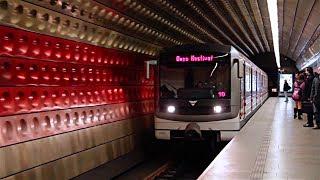 Metro Praha // Siemens M1 + Škoda 81-71M