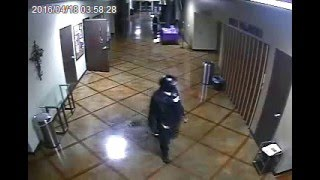 Midlothian Texas Police Department Surveillance Footage from Creek Side Church Homicide