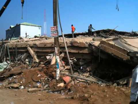 Accra's Melcom department store collapses