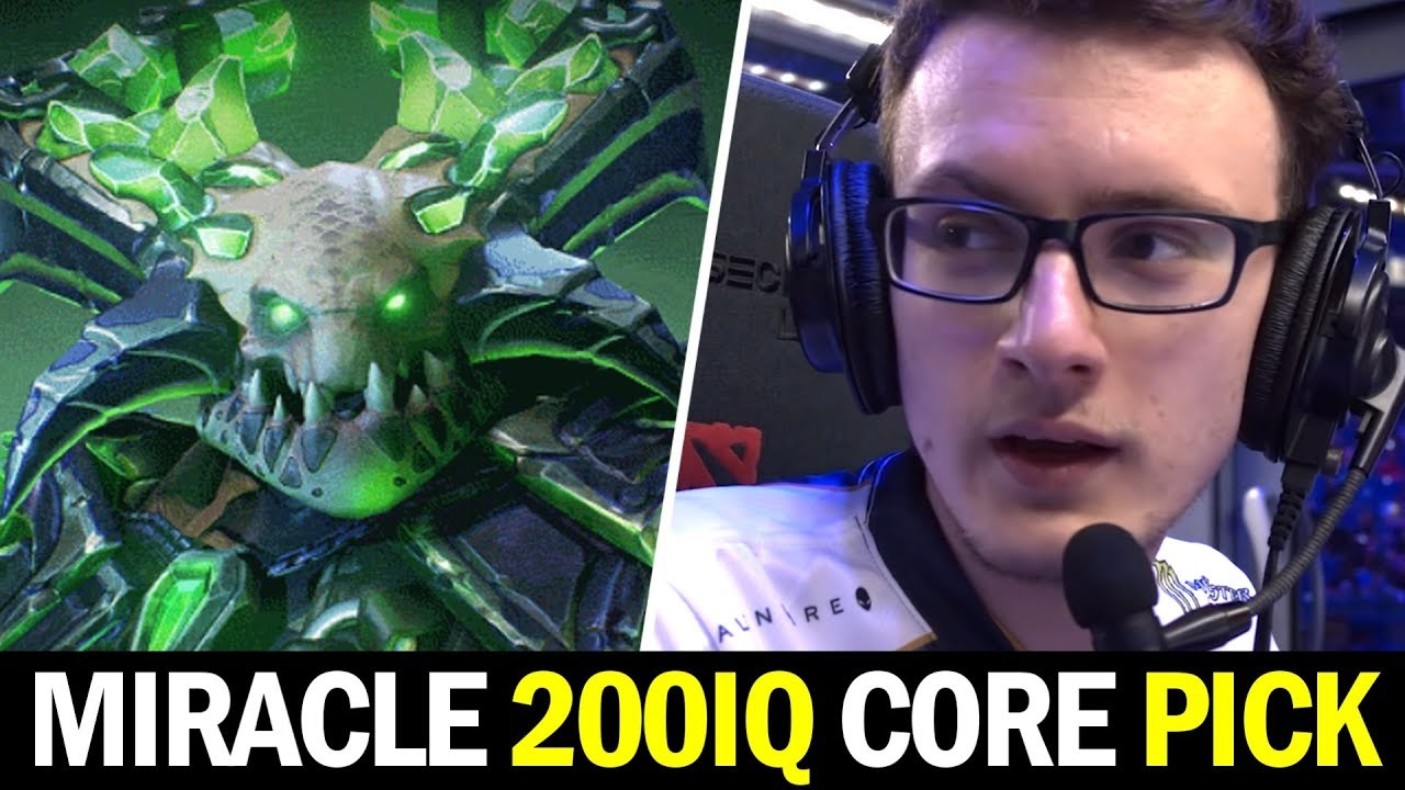 MIRACLE 200IQ Core Pick vs NOONE — Underlord Carry the Game Dota 2 thumbnail