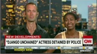 Video CNN Host Has A TENSE Interview With 'DJANGO UNCHAINED' Actress Who Wouldn't Give COPS Her ID download MP3, 3GP, MP4, WEBM, AVI, FLV Oktober 2017