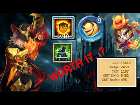 Hot Shot In Action | 10/10 Flame Guard | 9 SL | Radiant Hawk Level-12 | 6/6 HC | Castle Clash