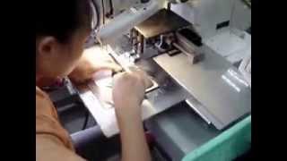 видео: Швейные автоматы Brother для производства обуви