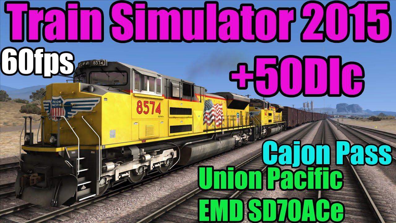 TS 2015 - EMD SD70ACe Pacific Union Cajon Pass
