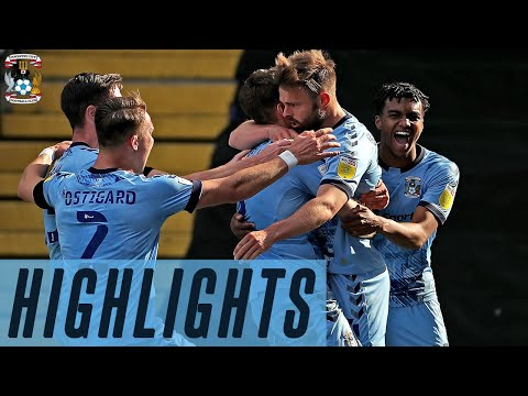 Coventry Barnsley Goals And Highlights