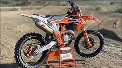 First Ride 2019 KTM 450SXF Factory Edition - Motocross Action Magazine