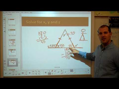 Chapter 4, Lesson 3, Isosceles and Equilateral Triangles