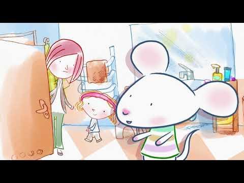 Myszka w paski | Jak czesać włosy | bajki dla dzieci MiniMini+