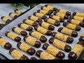 أغنية أطيب وألذ حلوى بدون بيض ب كوبين دقيق فقط 40 قطعة اصابع اقتصادية هشة وبتدوب في الفم ( الحلقة 798 )