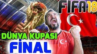 TÜYLERİNİZ DİKEN DİKEN OLACAK! |  FIFA 18 DÜNYA KUPASI MODU FİNAL!