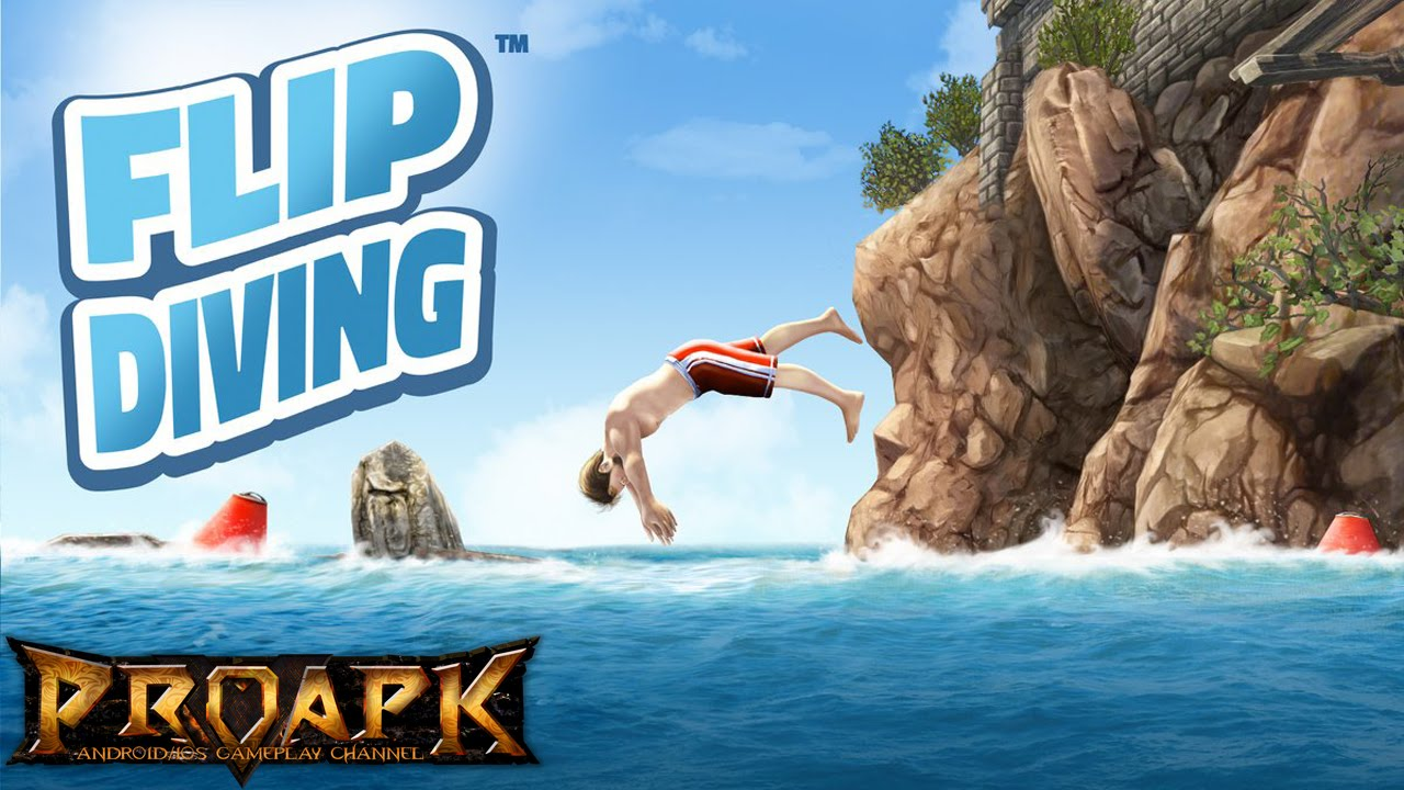 flip diving gameplay
