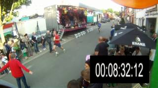 Jogging Gavere 16 juni 2012 afstand 2,1km