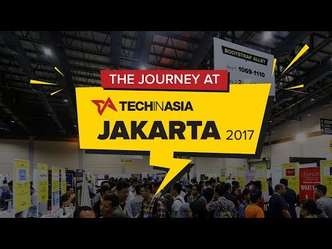 The Journey at Tech in Asia Jakarta 2017