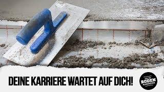 Estrichleger/ in - Das Berufsportrait