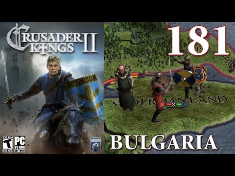 Crusader Kings 2 Part 181 - Byzantine Civil War