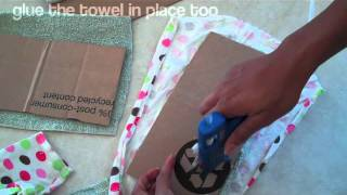 How to Make a Doll Sofa 2 - Doll Crafts