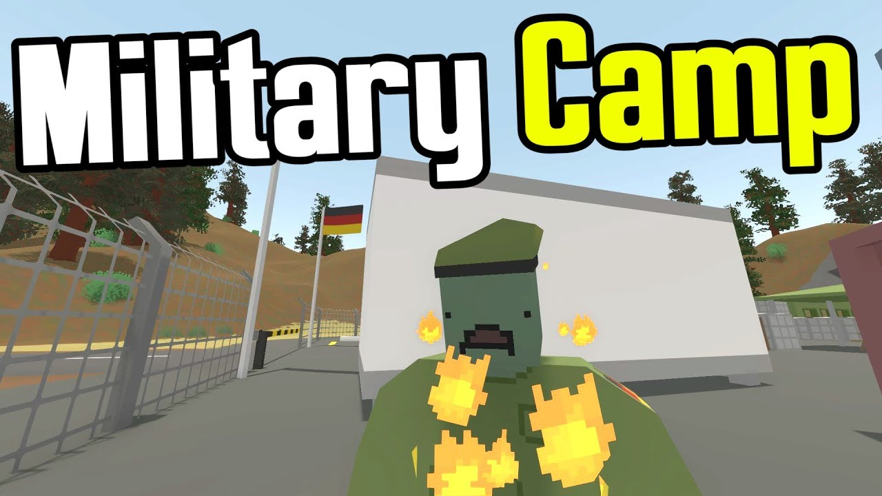MAN Vs UNTURNED Ep Ostsee Military Compound Unturned - Berlin map unturned
