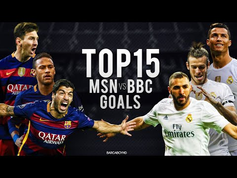 MSN vs BBC ● Top 15 Goals 2015/2016