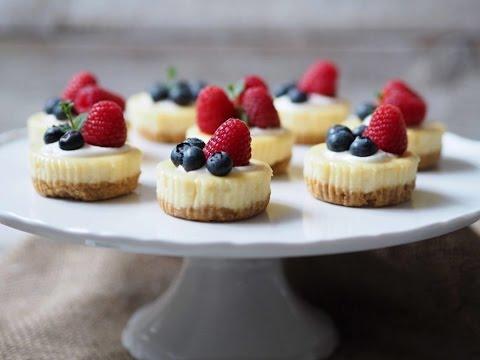 mini cheesecake recept