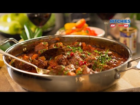 Spanish Style Paprika Beef
