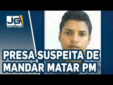 Presa suspeita de mandar matar uma PM