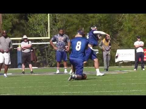 Louisiana College Spring Football 2015