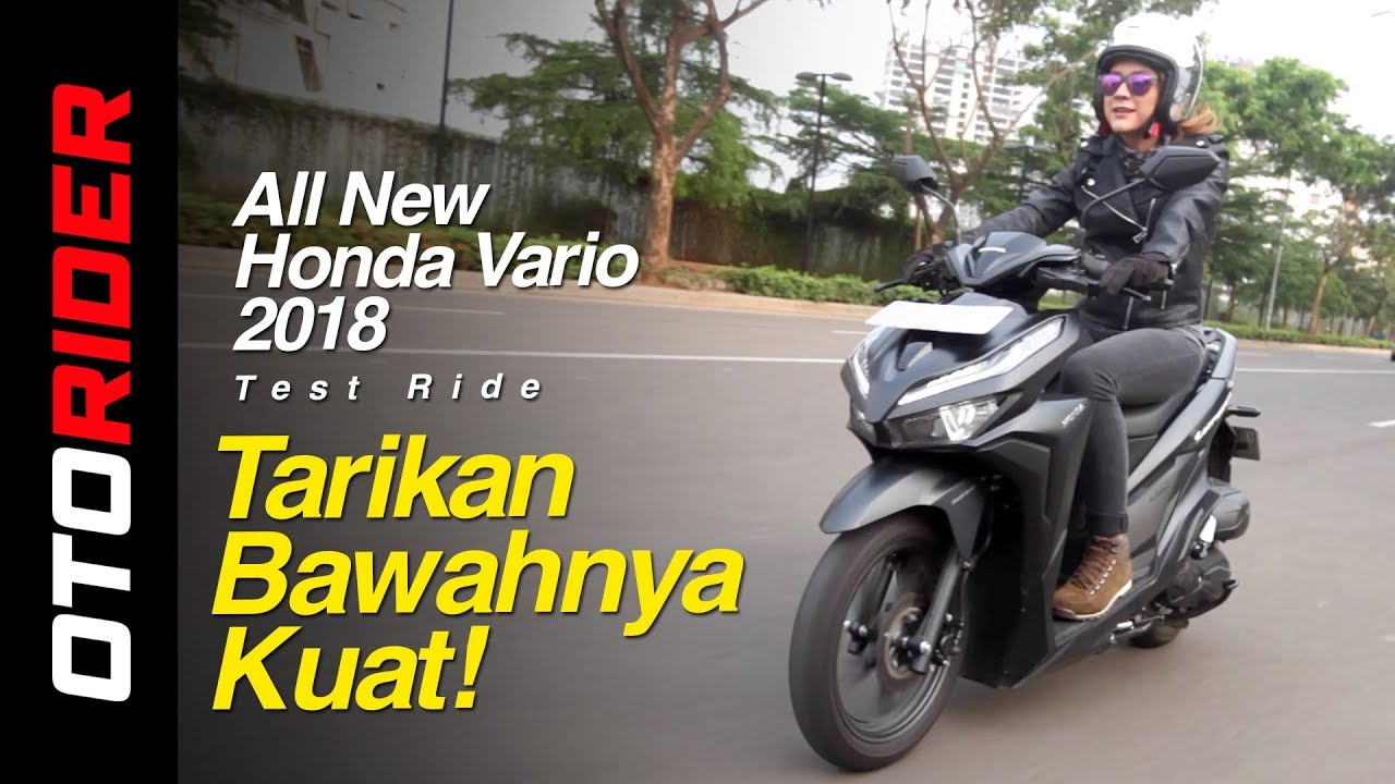 all new honda vario 150 2018 test ride indonesia. Black Bedroom Furniture Sets. Home Design Ideas