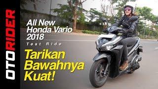 All New Honda Vario 150 2018 Test Ride Indonesia | OtoRider