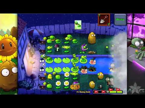 Plants vs Zombies Mini-Game It's Raining Seeds