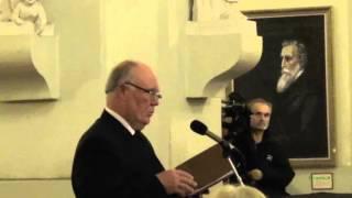 2015 11 02 Romualdo Granausko 1939–2014 kūrybos vakaras  Baltas liūdesio balandis