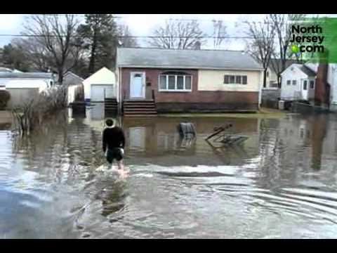Pompton Lakes flooded